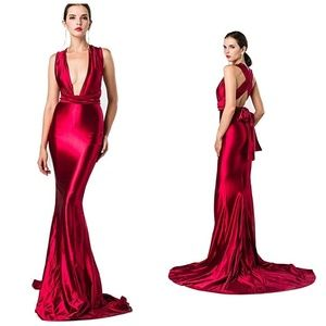Bella Dream gown in Red
